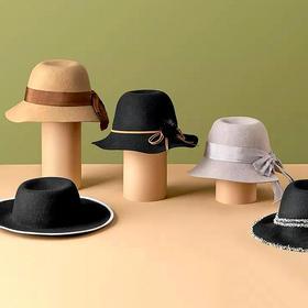 LAZYSURI·100%纯羊毛系带蝴蝶结帽│经典法式优雅,如云朵般温暖舒适,时髦百搭
