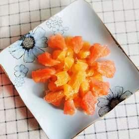 【半岛商城】蜜柚组合 黄金香柚1枚+硒砂红柚1枚 净重6-6.5斤左右 省内包邮