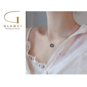 圆圈小众设计项链女款锁骨链 白色(s925镀银) /金色(镀铜) 两色可选 L90008