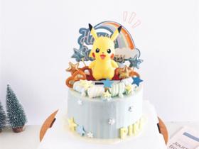 去吧!皮卡丘·创意卡通生日蛋糕