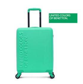 贝纳通(BENETTON)时尚字母logo行李箱多彩拉杆箱