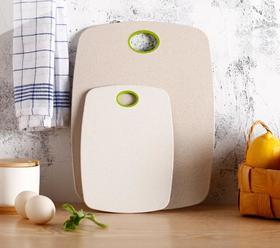 【砧板】小麦秸秆菜板套装 环保pp小麦菜板 防滑塑料切菜板+160积分