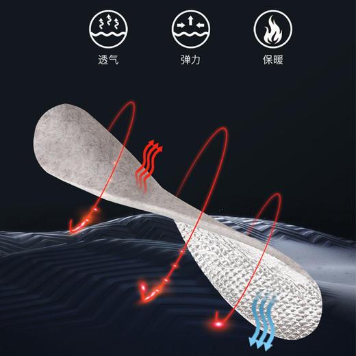 黑科技气凝胶热能反射保温鞋垫 商品图2