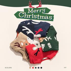 fx-咕噜日记圣诞款加绒毛衣