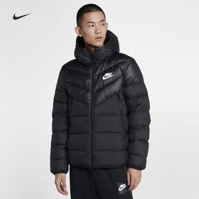 Nike耐克 M NSW DWN FILL WR JKT HD 男款连帽运动休闲夹羽绒服