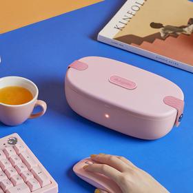【能加热的网红便当盒】东菱午餐加热便当盒 上班族热饭神器 免注水可插电加热保温便携电饭盒
