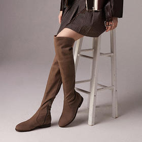 WAYNE FLEX过膝长靴丨专利设计,2种真皮,显腿瘦更显高