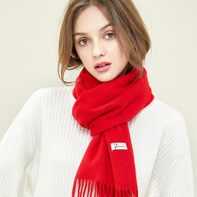玖慕纯羊毛围巾 | 澳洲初剪羊羔毛,软如轻云,暖若春阳
