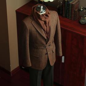 复古经典传统款诺福克粗呢粗纺夹克(预售,发货时间一月初)