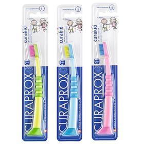 【瑞士CURAPROX】 4260儿童牙刷 3色手柄随机配送