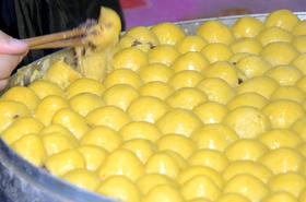 东北粘豆包 手工农家大黄米粘豆包500g*3袋