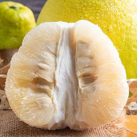 甘甜鲜嫩的梅州沙田柚 果肉饱满 淡淡柚香 产地现摘新鲜直达5斤礼盒装