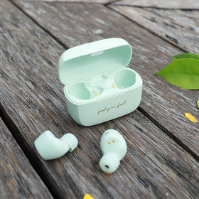 A漫步者x冇心真无线立体蓝牙耳机女可爱迷你小型单双耳入耳式蓝牙耳机圣诞节礼物