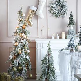 圣诞节装饰品场景布置圣诞树家用装橱窗摆件商场酒店圣诞装饰品
