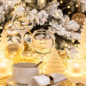 欧洲进口J-LINE红酒大号玻璃高脚葡萄酒杯具样板房装饰摆件摆设