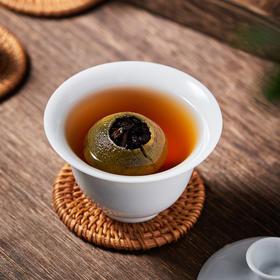 森晒小青柑茶 | 新会核心产区青柑,阳光生晒,云南古树春茶