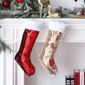 圣诞袜子家居橱窗商场酒店墙面圣诞装饰品场景布置节日装饰挂饰
