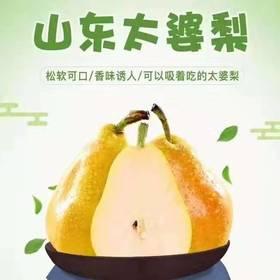 山东太婆梨|软糯香甜太婆梨 水果中的冰淇淋|5斤装【严选X水果蔬菜】