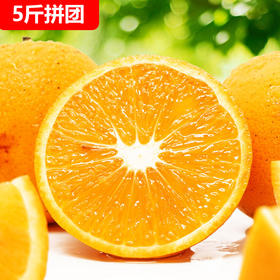 【拼团】2019首批新鲜冰糖橙子5斤净果活动价