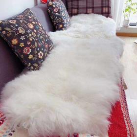 新疆小尾寒羊  单张羊皮 单人毯(3张拼成)双人毯(7张拼成)