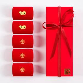 本命年踩小人红袜子大红色中筒棉袜男女士结婚情侣短袜福字属鼠年