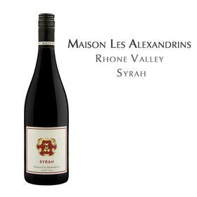 亚历士赞歌酒庄亚历斯红葡萄酒,法国 罗纳河谷 Maison Les Alexandrins Syrah, Rhone Valley