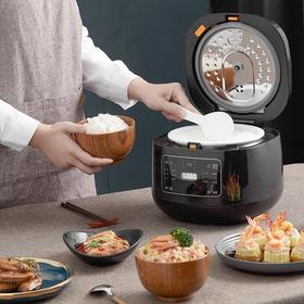 圈厨陶瓷电饭锅 | 不粘锅,不溢锅,智能预约,一键煮出米饭香
