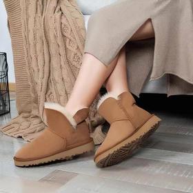 羊皮毛一体雪地靴丨A+级羊毛,UGG般奢侈品质,DJ猫