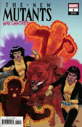 变体 新变种人 New Mutants War Children