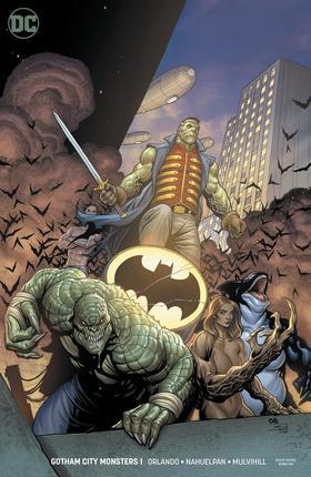 变体 哥谭城市怪物 Gotham City Monsters