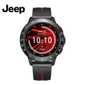 吉普(JEEP)智能手表 全网通独立插卡电话手表 智能表 多功能运动监测 IP68级游泳防水 GPS双星定位