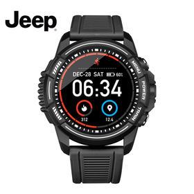 吉普(JEEP)智能手表 15天超长续航 智能表 多功能运动监测 IP68级游泳防水