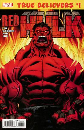 绿巨人 True Believers Hulk Red Hulk #1