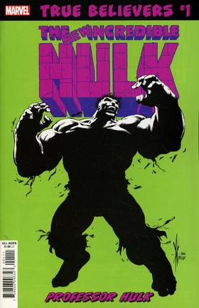绿巨人 True Believers Hulk Professor Hulk #1