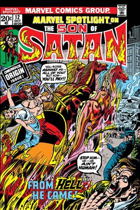 经典复刻 Son Of Satan Marvel Spotlight #12 Facsimile Edition