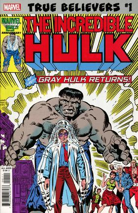 绿巨人 True Believers Hulk Gray Hulk Returns #1