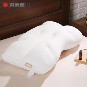 NiSHiKaWa/西川日本护颈椎单人枕头可调节可水洗睡眠枕芯微珠枕 14cm高