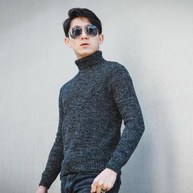 【加绒加厚保暖】硬朗塑型合身毛衣