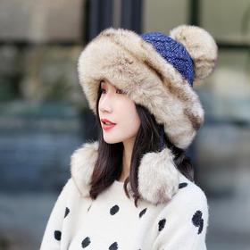 【清仓特价 不退不换】LMD新款户外针织防寒滑雪帽TZF