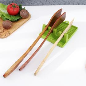 买一送一 厨房创意锅铲架汤勺垫放锅盖架托硅胶防滑