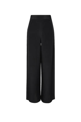 The long slit pant 真丝阔腿裤