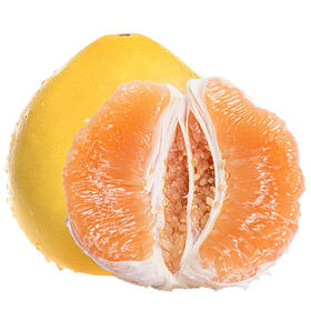 鲜嫩多汁的四川黄金柚 肉黄饱满 酸甜可口 柚香飘散 产地现摘新鲜直达 带箱5斤装/8.5斤装 | 基础商品
