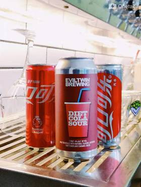 邪恶双胞胎 EvilTwin 肥宅快乐水 Diet Cola Sour 473ml单品