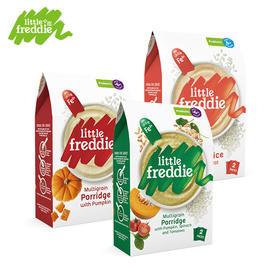 LittleFreddie小皮欧洲原装进口益生菌蔬菜高铁米粉160g宝宝营养辅食6m+