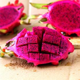 越南红心火龙果中果4/5-6个装新鲜红肉火龙果孕妇水果顺丰包邮