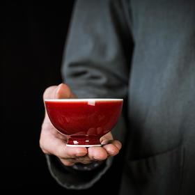 澄净堂·霁红茶器套组 | 御供级霁红,千窑一宝开年红