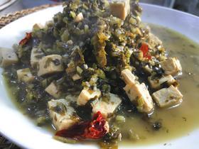 优惠组合 1斤腌雪菜+1斤半冻豆腐