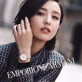 【佟丽娅同款手表!】Emporio Armani阿玛尼满天星潮流时尚星空手表腕表
