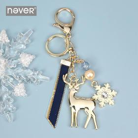 never冰雪系列圣诞麋鹿挂件