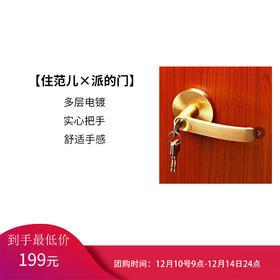 派的 五金锁具 室内门标配锁#KZ014 单体锁 锁具单拍不发货,买门才可拍